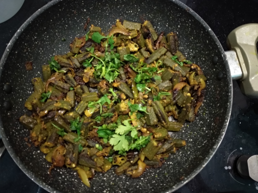 Bhindi-do-pyaza